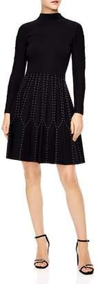 Sandro Opinion Studded Dress