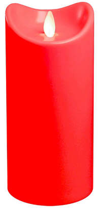 "Jh Specialties Inc/lumabase Lumabase 7"" Red Battery Operated LED Candle with Moving Flame"