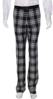 Gucci Plaid Mohair Pants w/ Tags