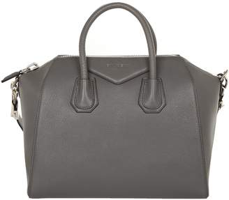 Givenchy Women's Antigona Sugar Goatskin Leather Satchel Bag