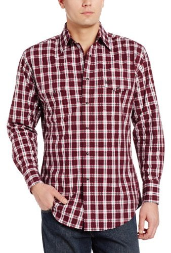 Wrangler Men's George Strait Collection Two Pocket Shirt