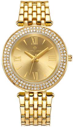 Timothy Stone Women's 'Burst' Roman Numeral Crystal Accented Boyfriend Bracelet Watch