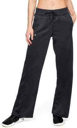 Under Armour Women's Fleece Open Hem Mid-Rise Sweatpants
