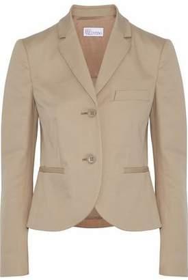 RED Valentino Cotton-Blend Twill Blazer