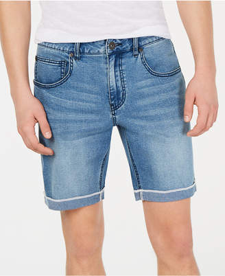 "INC International Concepts I.n.c. Men Cuffed Denim 7"" Shorts"