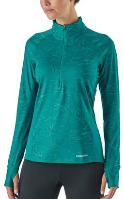 Patagonia Women's All Weather Zip-Neck