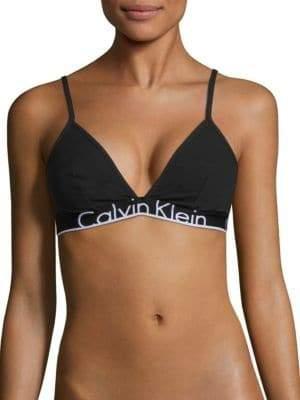 Calvin Klein ID Logo Triangle Bralette