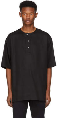 Lemaire Black Woven Henley