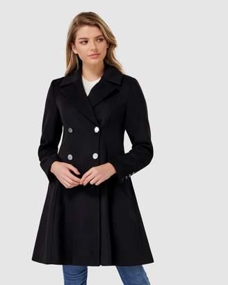 Paige Petite Skirt Coat