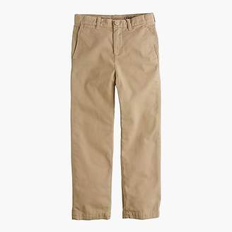 J.Crew Boys' garment-dyed chino pant in straight fit