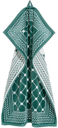 H&M Jacquard-weave Hand Towel - Turquoise