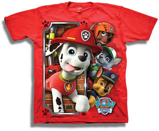 Novelty T-Shirts Short Sleeve Paw Patrol T-Shirt-Preschool Boys