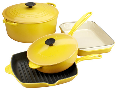 Le Creuset® Dijon Enameled Cast Iron 6-Piece Set