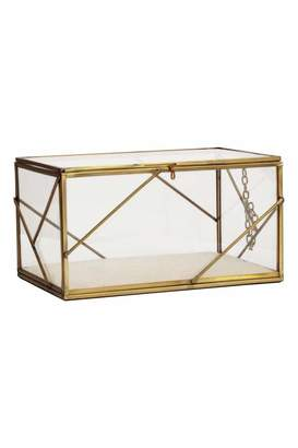 H&M Large Clear Glass Box