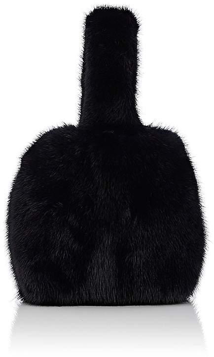 Barneys New York Women's Mink Fur Wristlet Bucket Bag