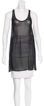 Etoile Isabel Marant Sleeveless Sheer Tunic