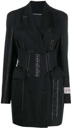 Ruban Jacket dress with corset