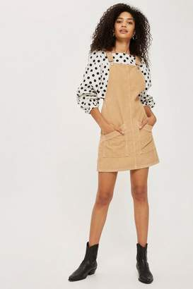 Tall cord pocket pinafore dress