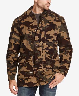 Weatherproof Vintage Men Corduroy Camo Jacket