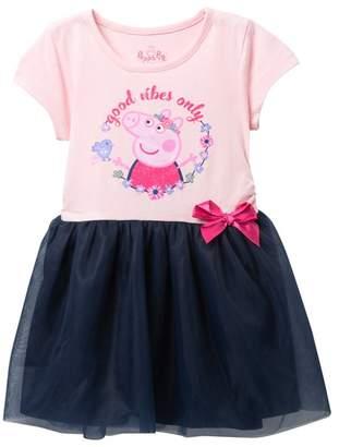 Peppa Pig HAPPY THREADS Tulle Tutu Dress (Toddler Girls)