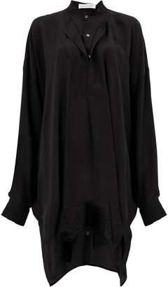 Faith Connexion layered sack shirt