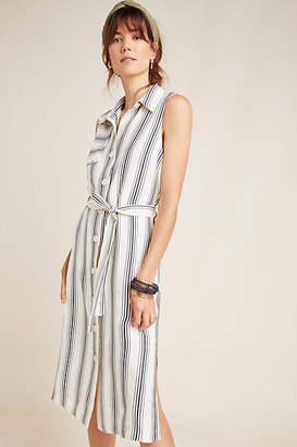 Maeve Esther Striped Shirtdress