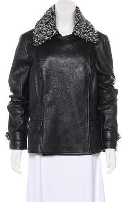 Chanel 2016 Leather Jacket