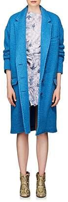 Etoile Isabel Marant Women's Gimi Wool-Blend Cocoon Coat