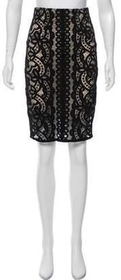 Lover Knee-Length Lace Skirt