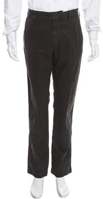 Save Khaki Cropped Slim-Fit Pants w/ Tags