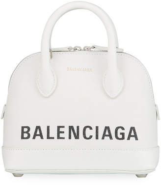 Balenciaga Ville XXS Logo Top-Handle Bag