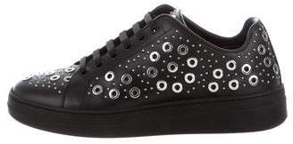 Alaia Embellished Low-Top Sneakers