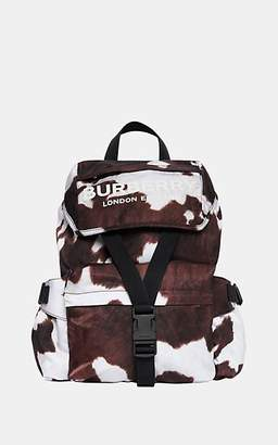 Burberry Women's Wilfin Small Leather-Trimmed Backpack - Cow Print