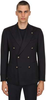 Tagliatore Double Breasted Cashmere Jacket