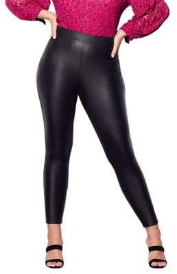 City Chic Plus Plus Harley High-Rise Jeggings