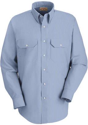 Red Kap Long Sleeve Deluxe Uniform Shirt