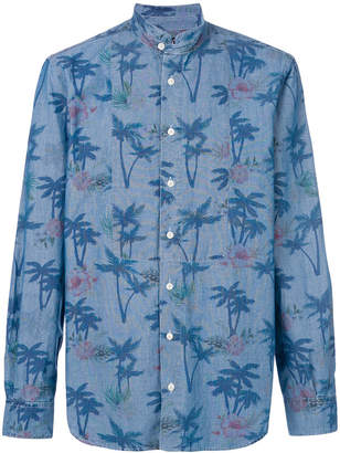 MC2 Saint Barth palm tree print shirt