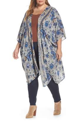 Angie Print Kimono