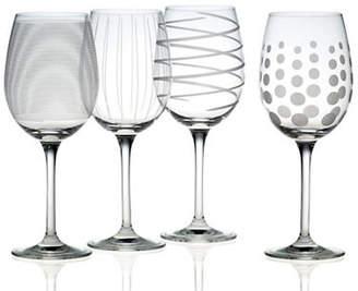 Mikasa Cheers White Wine Glass Set Of 4