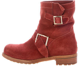 Jimmy Choo Jimmy Choo Youth Moto Ankle Boots