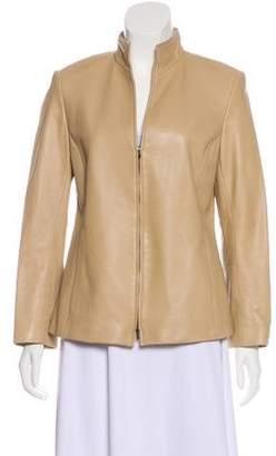 Lafayette 148 Leather Casual jacket