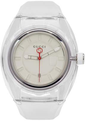 Gucci Transparent G-Sync Watch