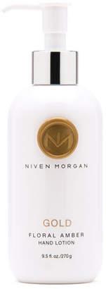 Niven Morgan Gold Hand Lotion, 9.5 oz.
