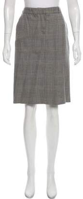 Cacharel Wool Knee-Length Skirt