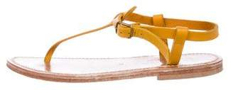 K Jacques St Tropez Leather Thong Sandals