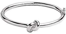 Kate Spade Women's Sailor's Knot Silvertone Bangle Bracelet
