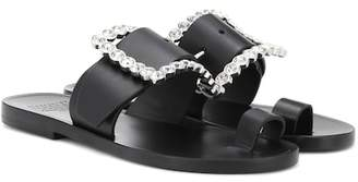 Maison Margiela Embellished leather sandals