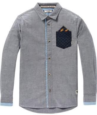 Scotch & Soda Contrast Pocket Shirt