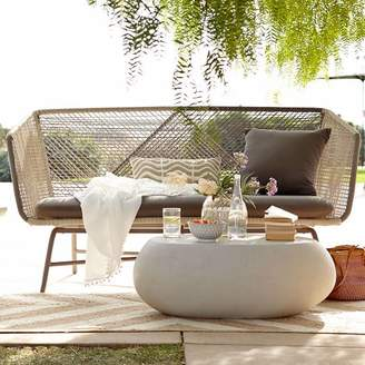 west elm Huron Outdoor Sofa – Gray/Seal