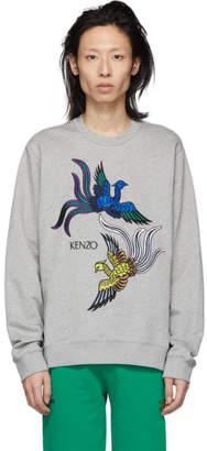 Kenzo Grey Phoenix Sweatshirt